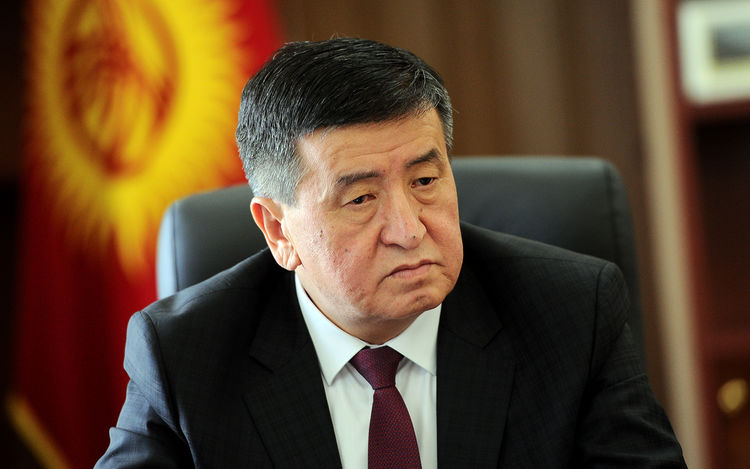 Sooronbai Jeenbekov To Speak In Parliament Tomorrow