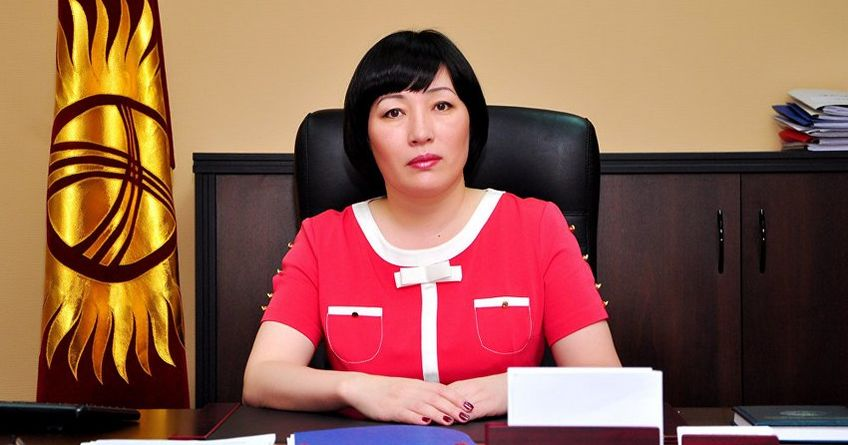Chairwoman Of State Registration Service Alina Shaikova