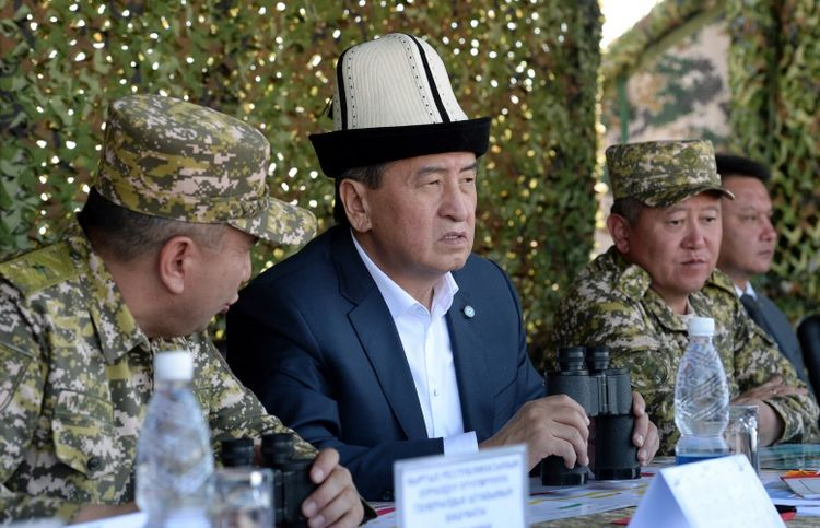 President of Kyrgyzstan takes part in final stage of Sary