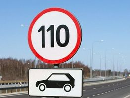 Kyrgyzstan allows driving at 110 kilometers per hour