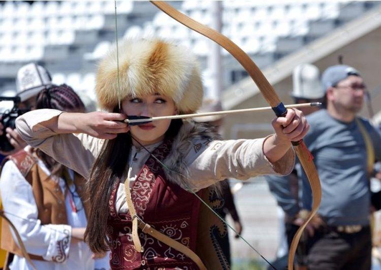 Фото ГАМФКиС. Эпизод турнира по салбууруну ко Дню Победы