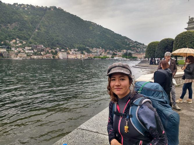 Фото из интернета. В Кыргызстане пропала путешественница из Франции