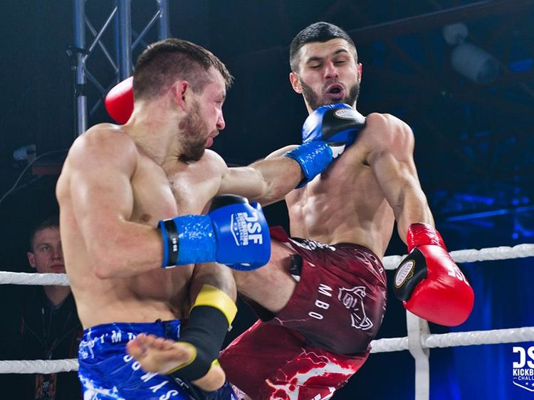 Фото Kickboxing Challenge. Алексей Федосеев (слева) на одном из турниров