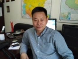Co-director of Confucius Institute Ma Lei jokingly calls himself Kyrgyz