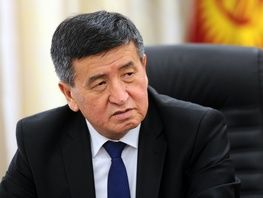 About 55 percent of voters vote for Sooronbai Jeenbekov