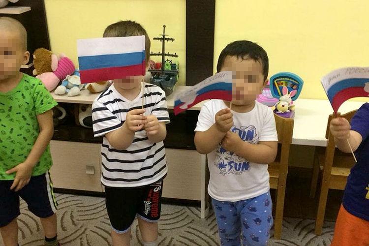 Фото из интернета. Дети детского сада для граждан СНГ в Москве