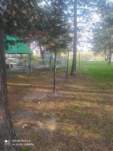Фото читательницы 24.kg. Жительница Бишкека жалуется на застройку парков и скверов
