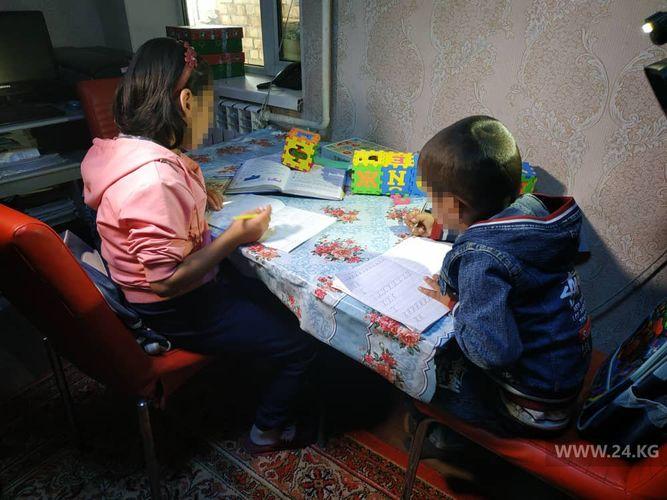 Фото 24.kg. Приемные дети Сейил Искендеровой и Шамыркана Курманбаева