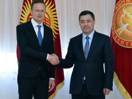 Sadyr Japarov: Hungary - strategic partner of Kyrgyzstan in EU