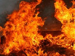 Man dies in fire in Bishkek