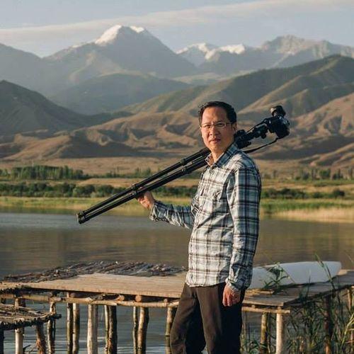 Фото из личного архива Эндрю Чена. Сингапурцу родные края напоминает множество парков и деревьев в Бишкеке