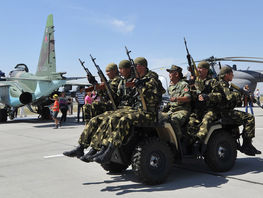 Missile firing exercise completes trainings of Russian aviation in Kyrgyzstan