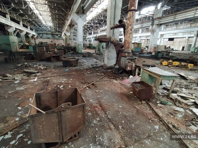 Фото 24.kg. Бишкекский машиностроительный завод
