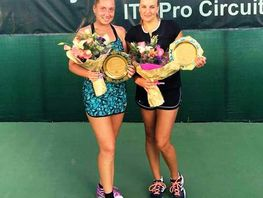 Kseniya Palkina wins International Tennis Tournament