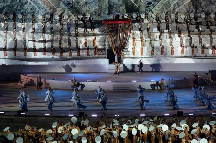 Фото Султана Досалиева. Открытие III Всемирных игр кочевников