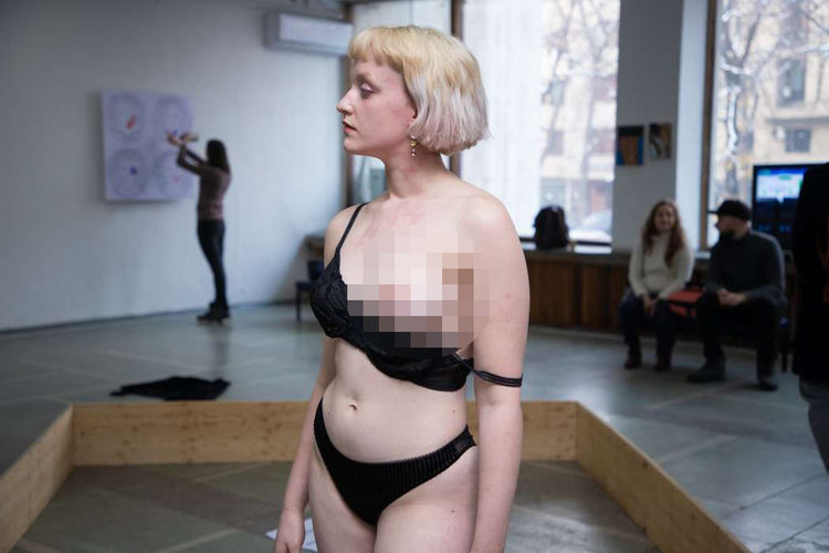 Фото Рустема и Анны Ильясовых. Перформанс о правах секс-работниц