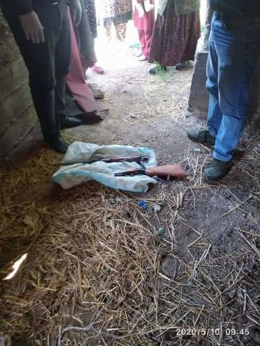 Фото УВД Баткенской области . В Кадамджае мужчина стрелял под ноги маленьким детям