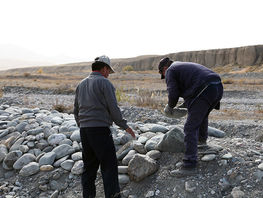 Residents of Naryn region restore 2.5 kilometers of irrigation canal