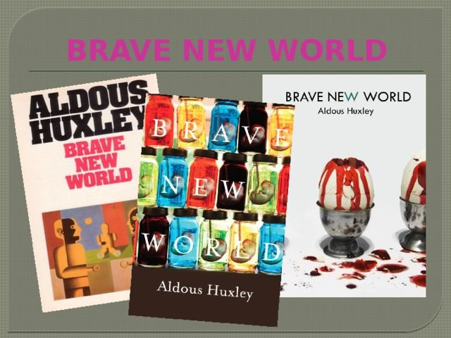 an analysis of the drug some in brave new world by aldous huxley Brave new world study guide contains a biography of aldous huxley, literature essays, quiz questions, major themes she then discovers that both she and bernard forgot their soma, so she has to see the village consciously rather than through the veil of the narcotic.