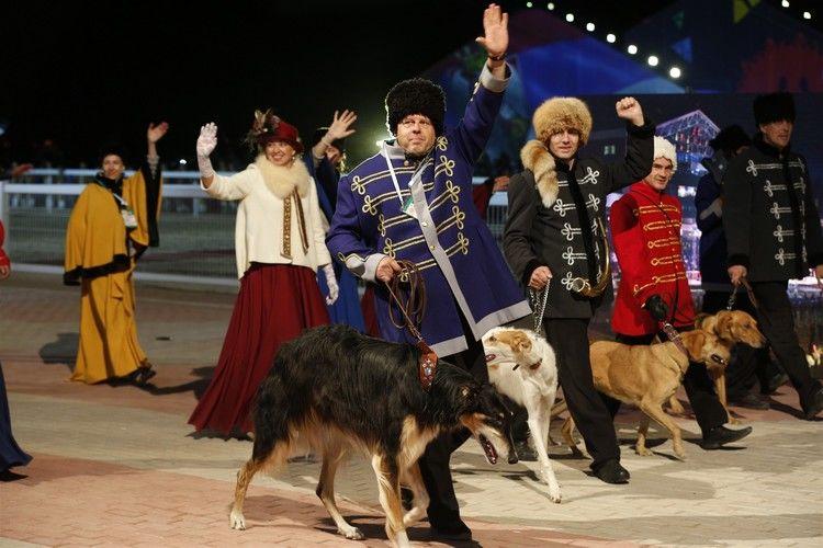 Фото Александра Писаренко. Открытие III Всемирных игр кочевников