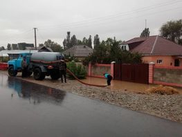 Issyk-Kul region of Kyrgyzstan suffers from mudflow