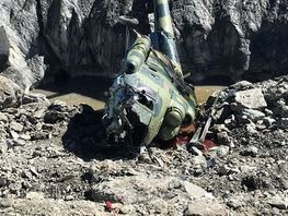 Daily Mail publishes video of Mi-8 helicopter crash in mountains of Kyrgyzstan