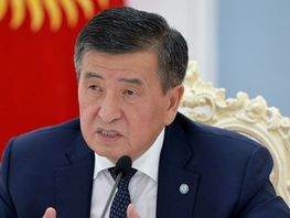 Jeenbekov: Introduction of state of emergency in country is not considered