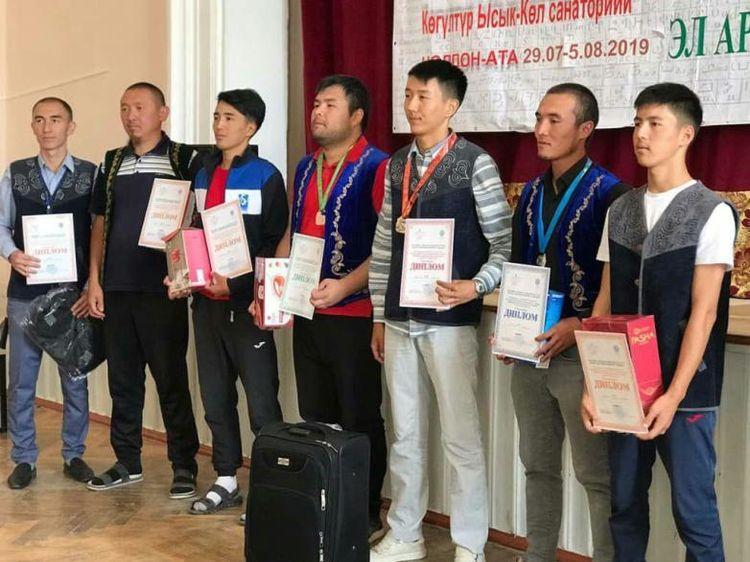 Фото Камчыбека Касымова. Награждение призеров среди мужчин