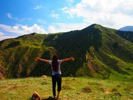 Mariko Kato misses the sea, but fell in love with mountains in Kyrgyzstan