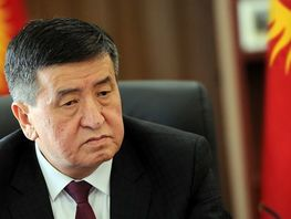 Income declaration of Sooronbai Jeenbekov made public
