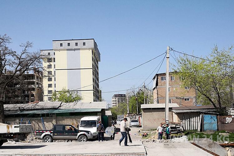 Фото ИА «24.kg» . Эти постройки будут снесены