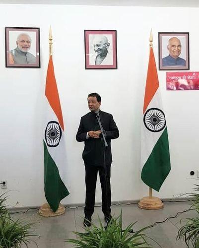 Фото посольства Индии в Кыргызстане. На мероприятии в диппредставительстве