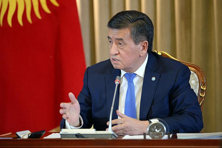 Султана Досалиева. Сооронбай Жээнбеков на итоговой пресс-конференции 19 декабря 2018 года