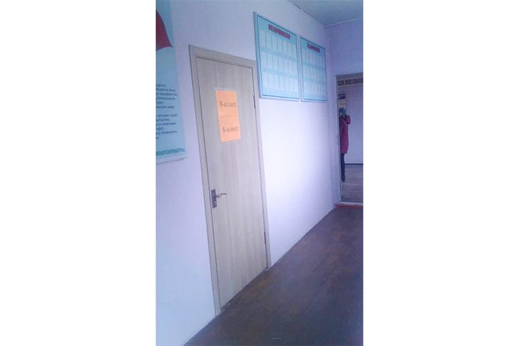 Фото полномочного представительства правительства в Нарынской области. В клубе села Кенеш закончили ремонт. Здесь будут учиться школьники