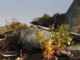 An-26 military plane crashes near Kharkiv, cadets killed