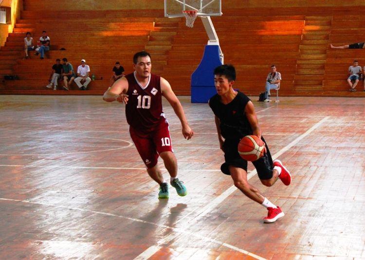 Фото Федерации баскетбола КР. Эпизод «Летнего кубка Центральной Азии»
