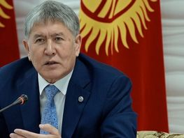 Ex-president Almazbek Atambayev earns 100 million soms in 2017