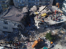 Sooronbai Jeenbekov condoles with Turkey in connection with earthquake