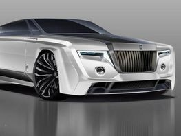 В Сети появилось фотореалистичное изображение Rolls-Royce Phantom 2050 года