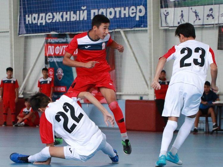 Фото Ассоциации футзала Кыргызстана. Эпизод турнира по футзалу в Бишкеке