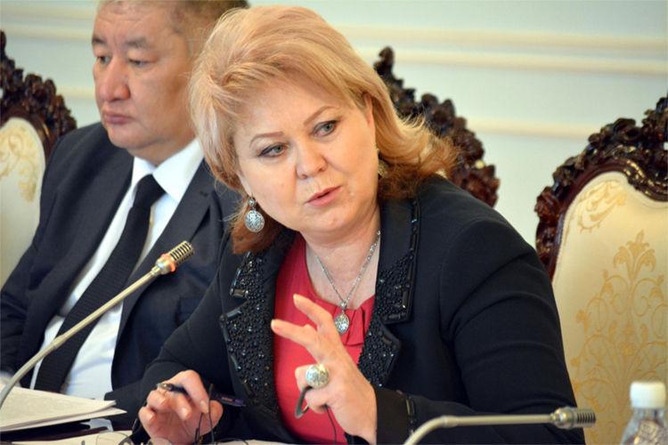 Фото из интернета. Депутат Жогорку Кенеша Ирина Карамушкина