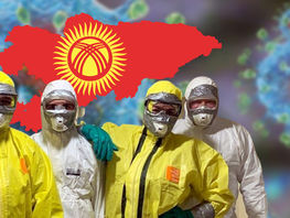 Infected with coronavirus include 9 children, 2 - under 12 months in Kyrgyzstan