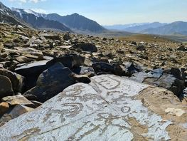 Unique petroglyphs destroyed in Alai district due to coal mining