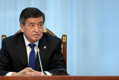 "Sooronbai Jeenbekov calls for remembering ""first March people's revolution"""