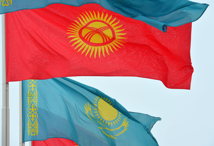 Фото Султана Досалиева. Садыр Жапаров прибыл в Казахстан с государственным визитом
