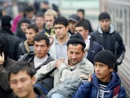 Migrants from Kyrgyzstan enter top 3 in terms of their number in Russia