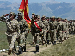Sary-Tash 2019 military exercises start in Alai district of Kyrgyzstan