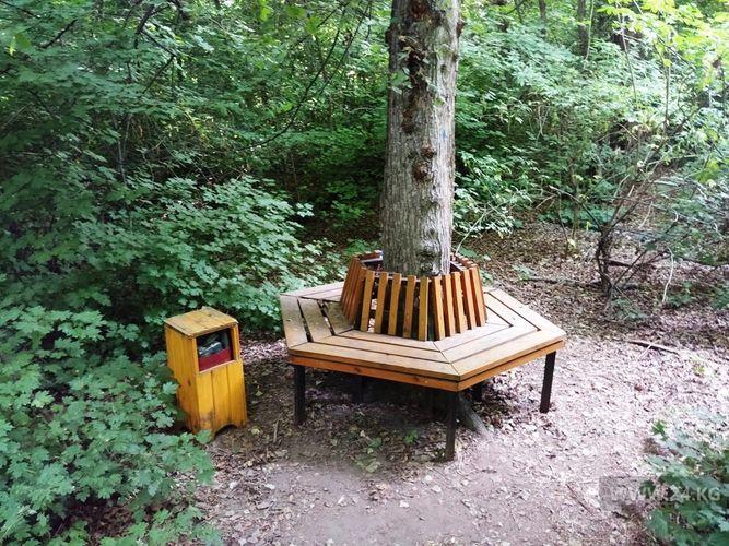 Фото 24.kg. Для посетителей на аллеях парка созданы все условия