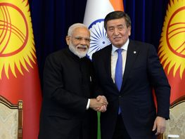 President declares 2021 Year of Friendship and Culture of Kyrgyzstan and India