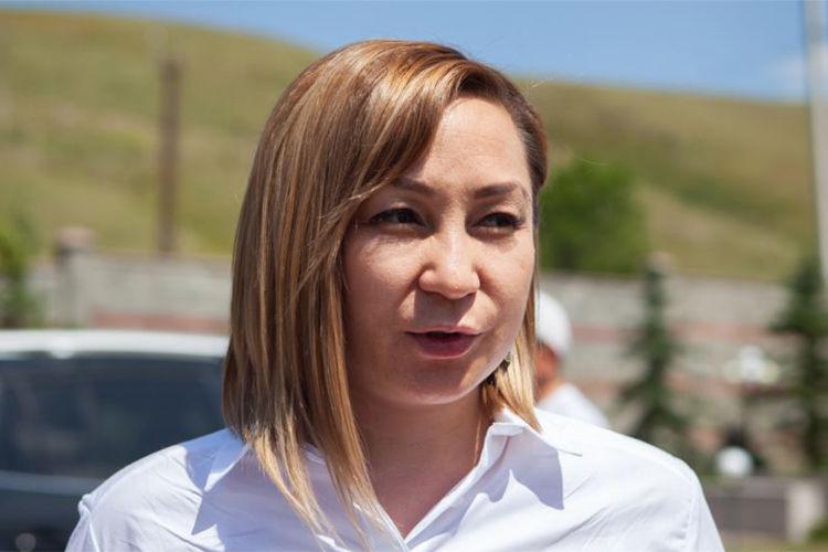 Фото из интернета. Экс-официальный представитель партии СДПК Кундуз Жолдубаева